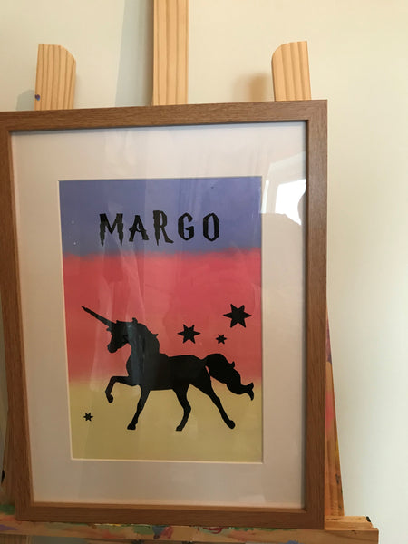 Childrens Room  Art Magic Unicorn