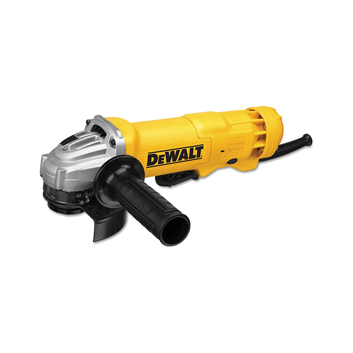 DEWALT Angle Grinder Tool, 4-1/2-Inch, Paddle Switch with No Lock, 11-Amp (DWE402N)