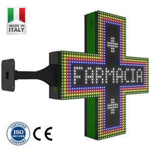 RGB Pharmacy Cross (80cm | P16)