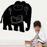 wallstickers tavle elefant