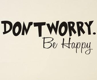wallstickers børneværelse dont worry be happy
