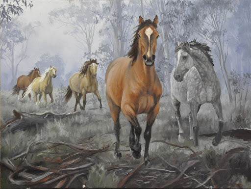 Mares in the Mist - Jennifer Marshall
