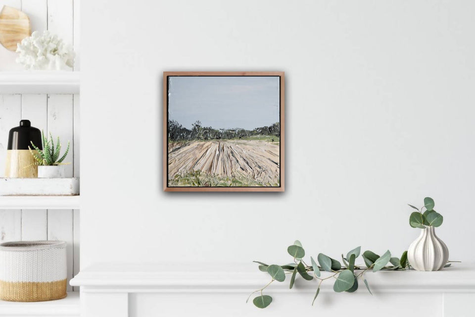 'Rollin' On' Framed landscape - SOLD