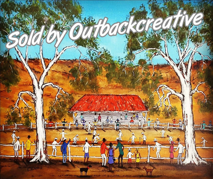 Cricket Outback Style Australia Now SOLD