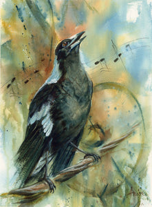 Singing Maggie - Limited Edition Print