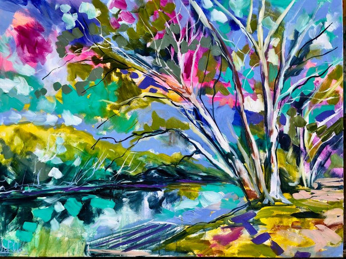 Riverbank Scribbly Gums - Fine art print