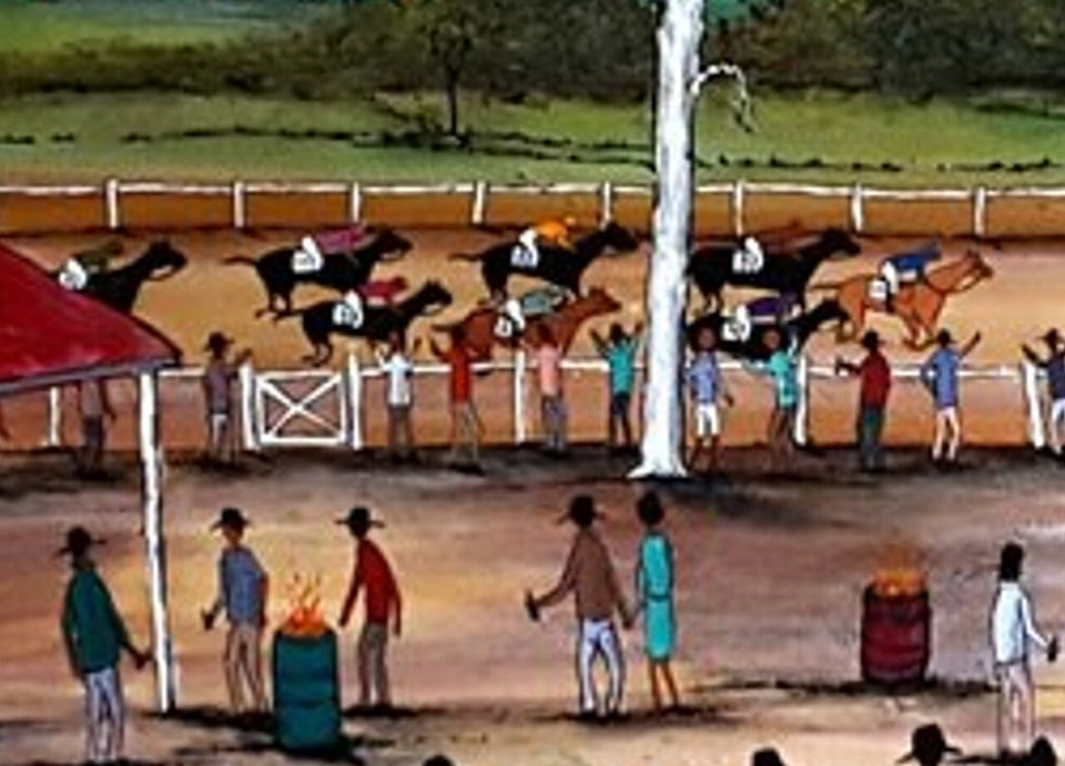Horse Races By EJCairns Edward Cairnduff Now Sold