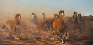 """Brumby Dust"" - Limited Ediiton Fine Art Reproductions Only"