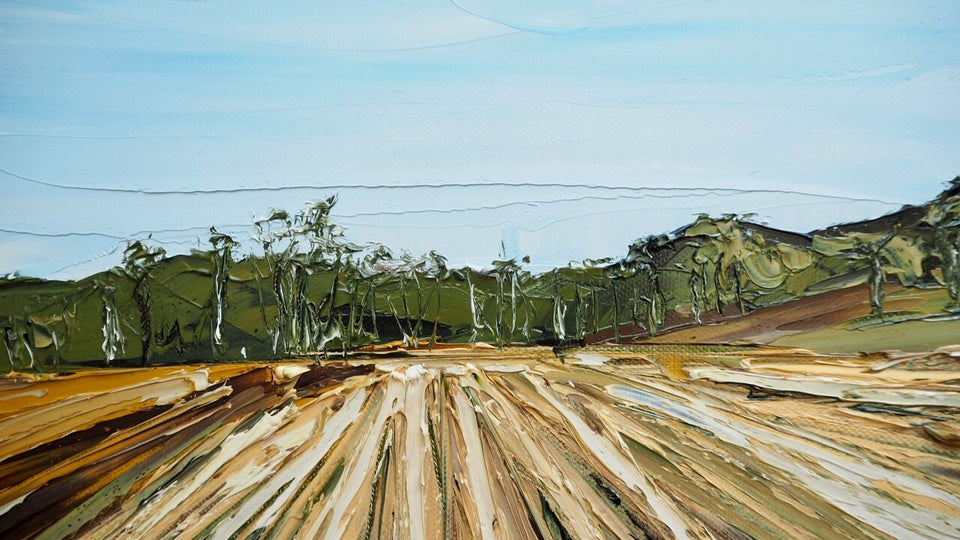 The most Important Things -FRAMED Australian Landscape - SOLD