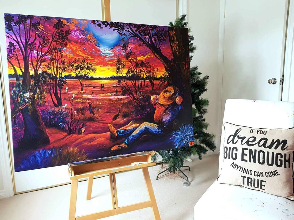 Australia Dreaming - LIMITED FINE ART REPRODUCTION