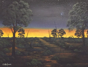 Nightfall In The Outback