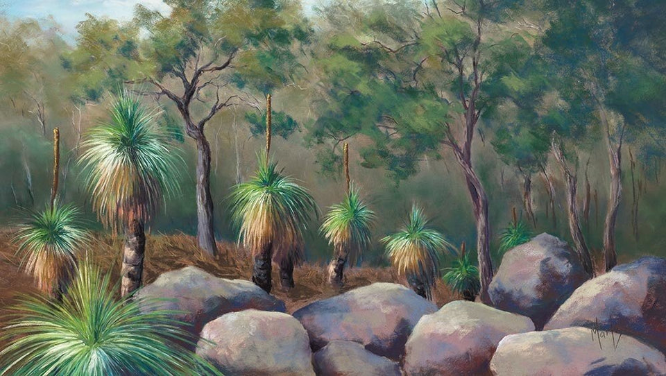 """Bush Scene"" - Limited Edition Fine Art Reproductions Only"