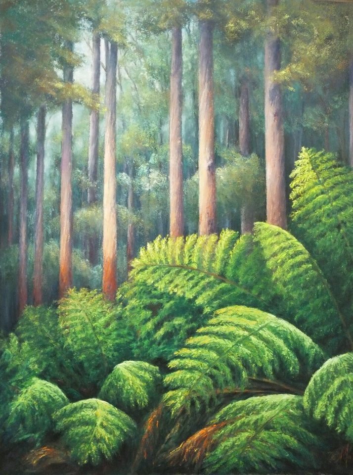 """Otway Tall Timber II"" - Limited Edition Fine Art Reproductions Only"