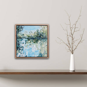 'The Study of Reflection 3' Framed landscape - SOLD