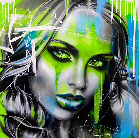 Green Neon - Limited Edition by Emma Grzonkowski
