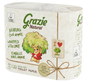 Grazie natural - Carta igienica eco - Imballo in carta