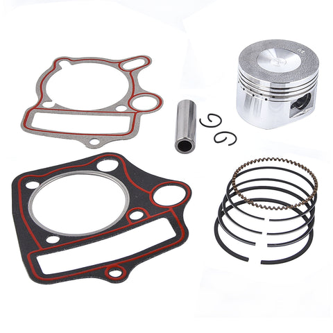 110cc Top End Kit Piston Rings and Gaskets