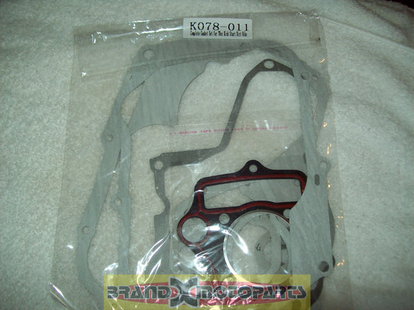 Complete Gasket Set for china 70cc Kick Start only Pit Bike / Dirt Bike