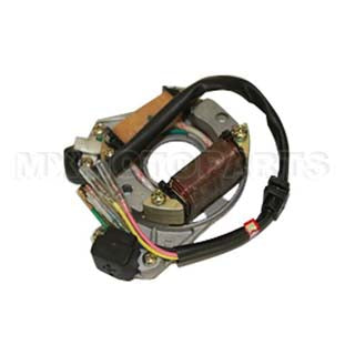 2-Coil Half-Wave Magneto Stator for 50cc-125cc Electrical Start