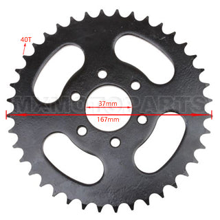 428 40 Teeth Rear Sprocket 150 ATV
