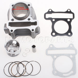 "57.4mm Bore Cylinder Kit  for GY6 150cc ""A"" Block"