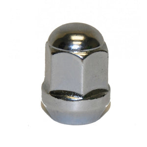 M10x1.25x15 Chrome Lug Nut, Tapered Seat Hammerhead