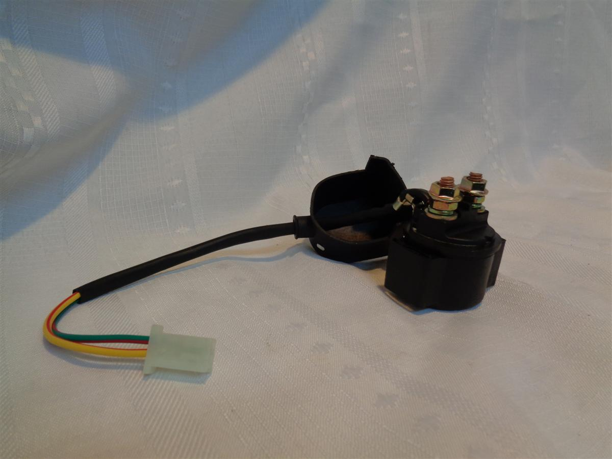 New Starter solenoid / relay for 50cc - 250cc ATV, Scooter, Buggy, Go kart GY6