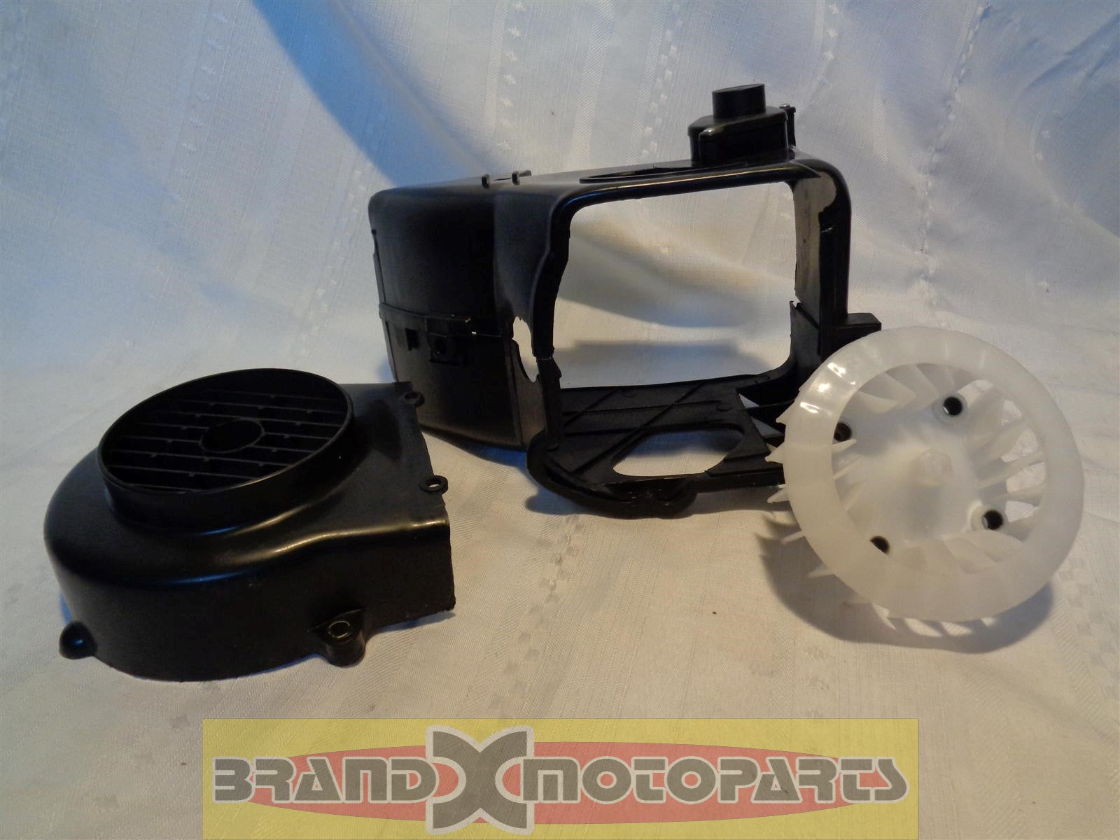 Complete Air Shroud Assembly w/fan for GY6 50cc ATV,Go Kart,Buggy's & Scooter