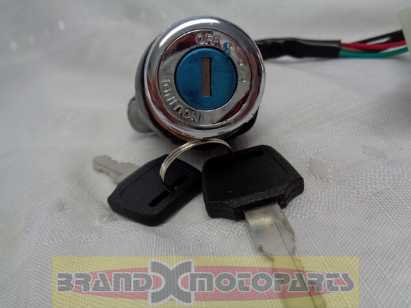 6 wire Key Ignition for ATV & Dirt Bike, Go Kart