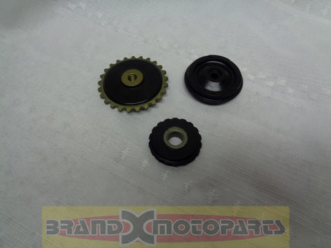 Timing Chain Guide wheels & Oil Pump Gear for 50cc to 110cc China ATV, Go Kart