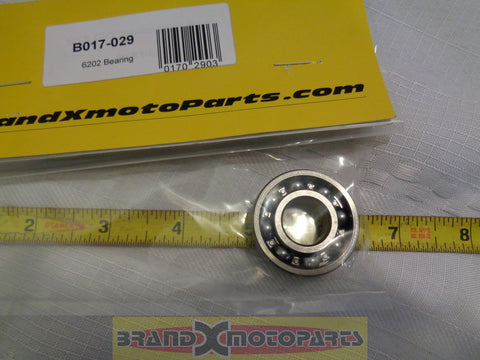 6202 Bearing used in many ATV's Buggy's and Scooters
