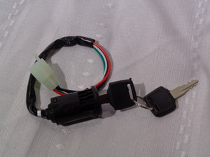 4 Wire Key Switch For Chinese Made ATV'S, Mini Quads, Pit Bikes, Go Karts