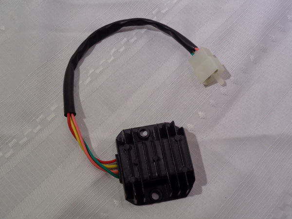 4-wire Voltage Regulator for GY6 150cc & CG 125cc-250cc ATV, Dirt Bike, Go Kart,
