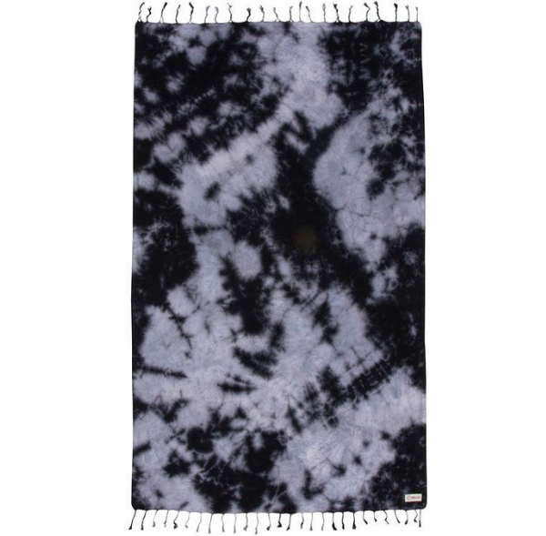 Black Acid Wash Towel