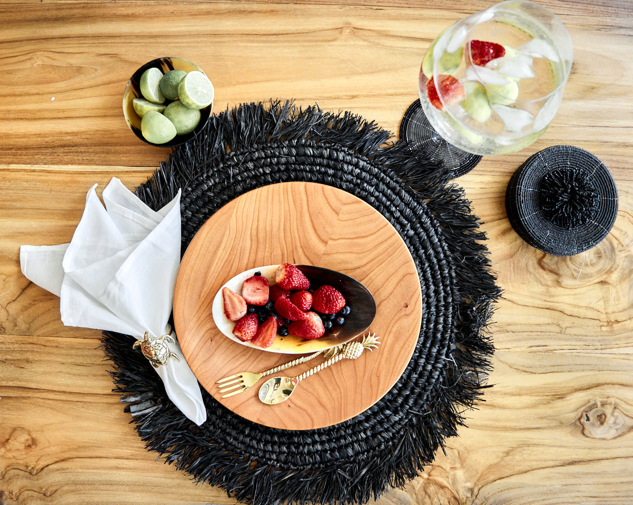 PLACEMAT BARLOVENTO BLACK