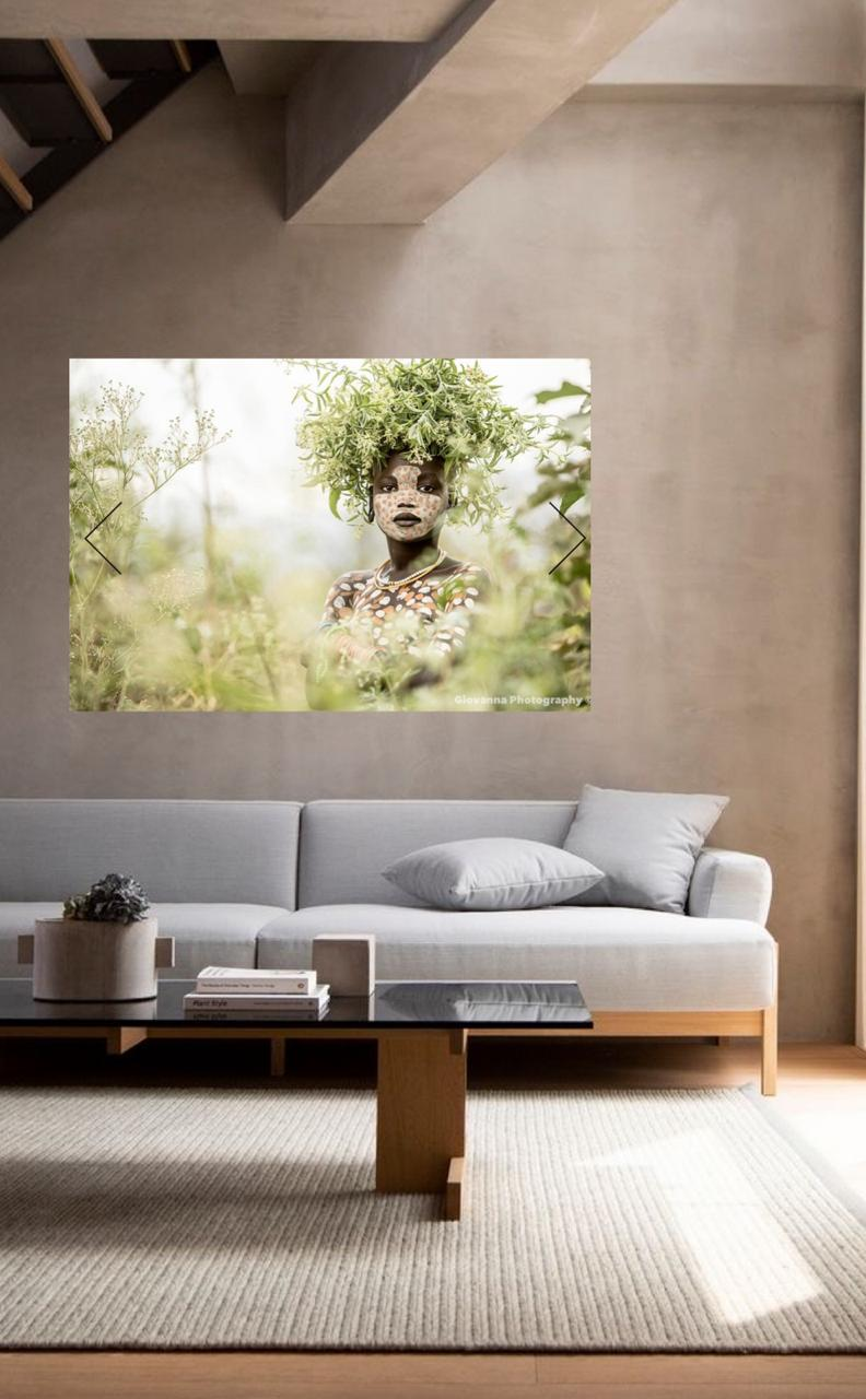 WALL ART ETI SURI JUNGLE / 120X180