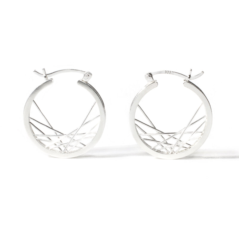 HYPOTROCHOID HOOP EARRINGS