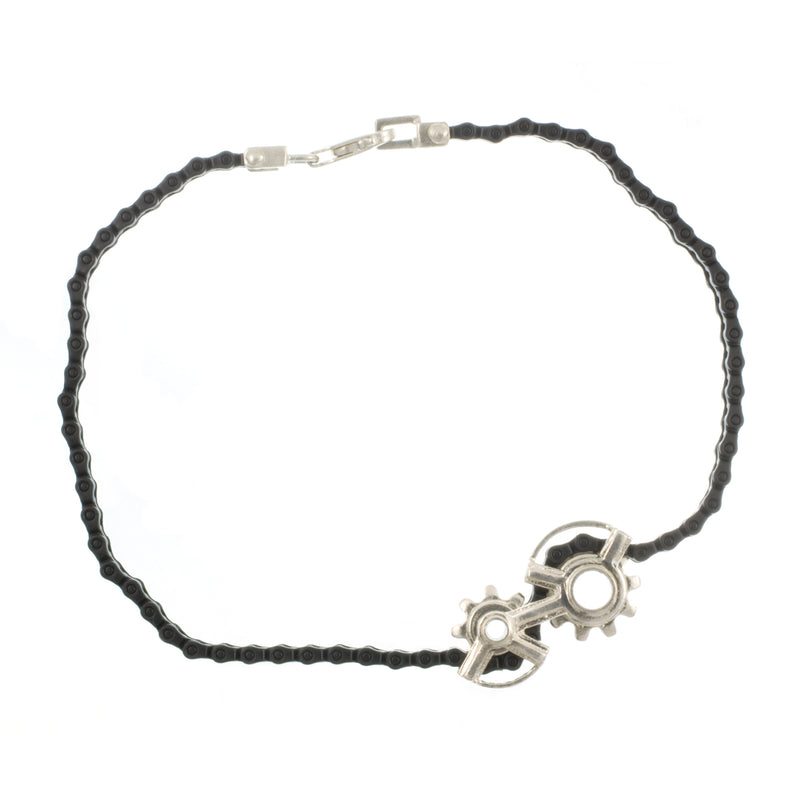 SPINNING SPROCKET BRACELET/NECKLACE