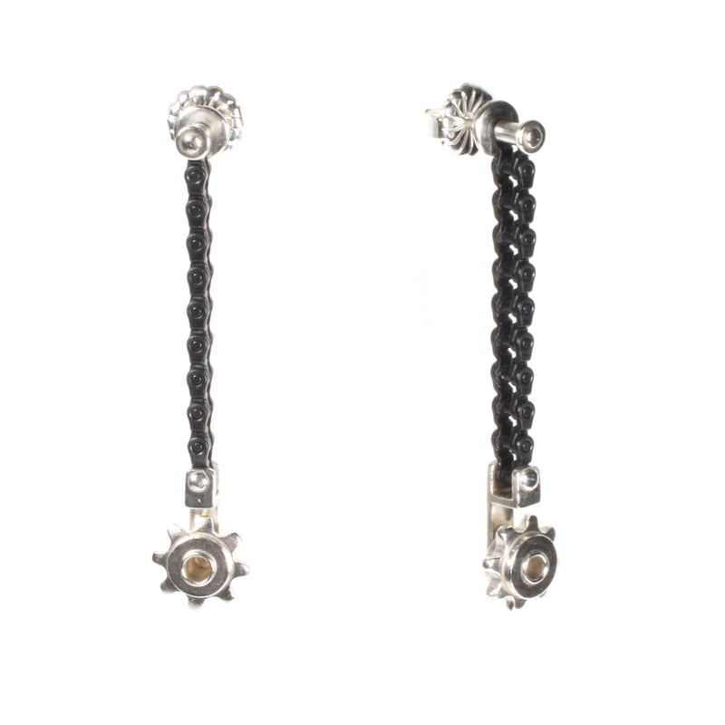 SPINNING SPROCKET DROP EARRINGS