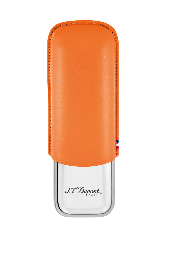 S.T. Dupont - Double Cigar Case - Orange