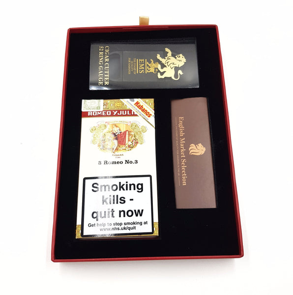 """Havana Happy Christmas"" - Romeo y Julieta No.3 Xmas Gift Box"