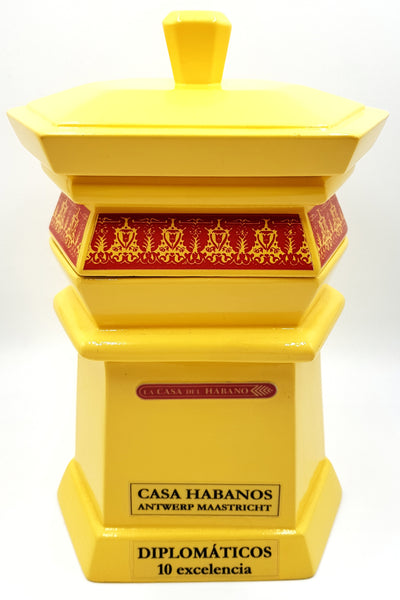 (J) Diplomaticos - Excelencia Hexagon Jar - (LCDH Antwerp 2015) - 10 cigars