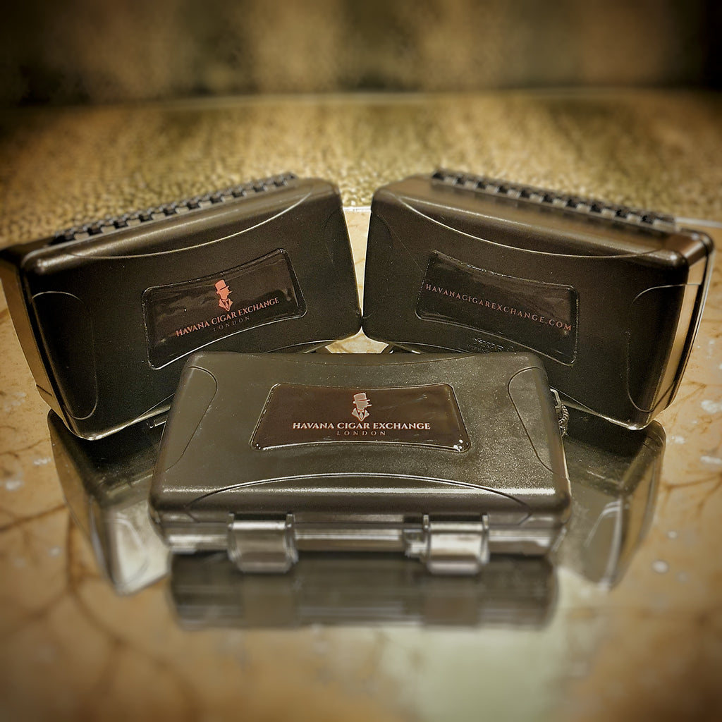Xikar travel humidors - 5, 10 and 15 cigars - Havana Cigar Exchange LOGO