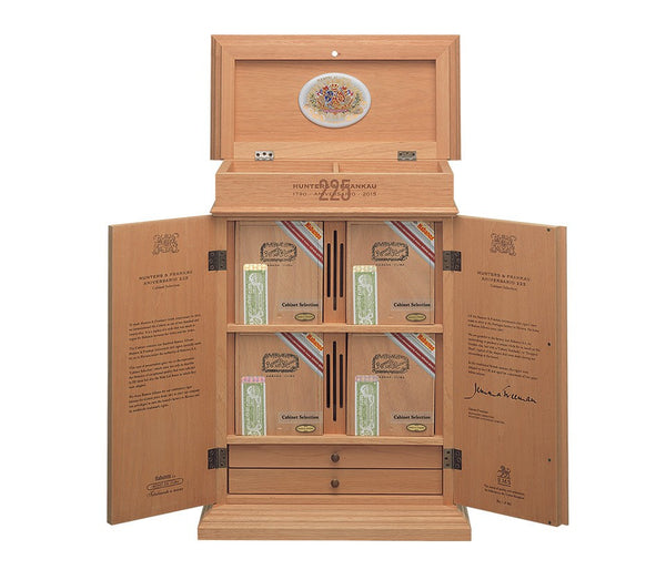 Hunters & Frankau 225th Anniversario 2015 - Commemorative Humidor