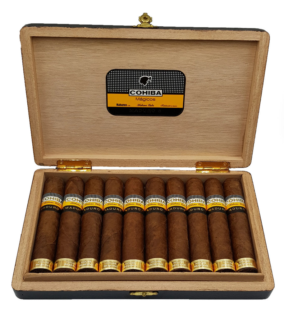 (A&R) Cohiba Maduro 5 - Magicos (2007) - First Release - Aged & Rare by H&F - Series 1790