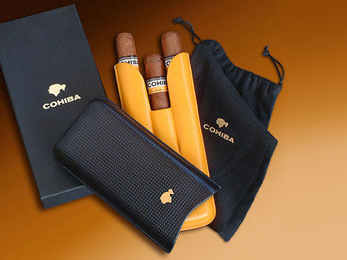 Cohiba Cigar Case with 3 Cohiba Magicos cigars