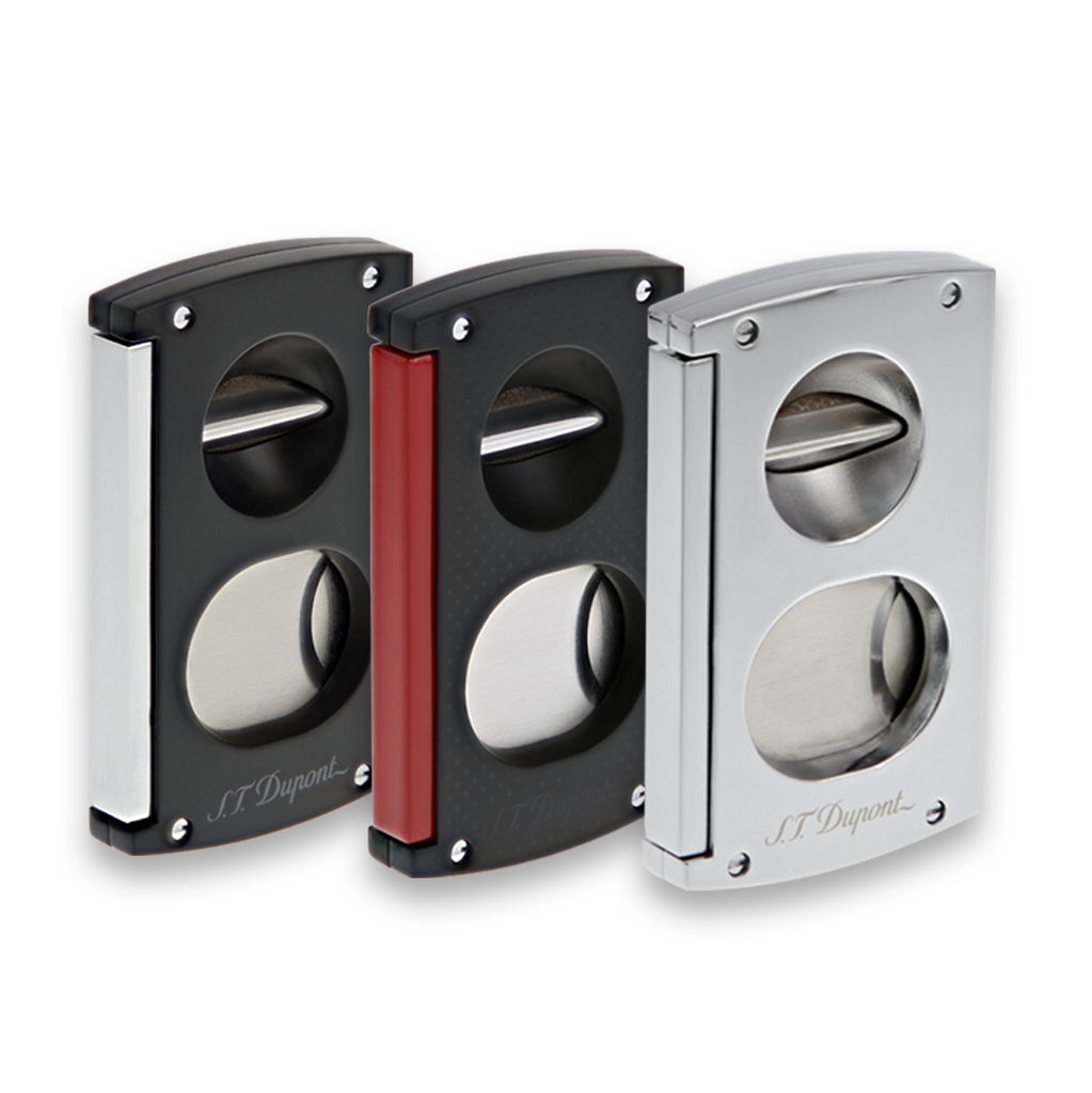 S.T. Dupont - Cigar Cutter Double Blade and V Cigar Cutter