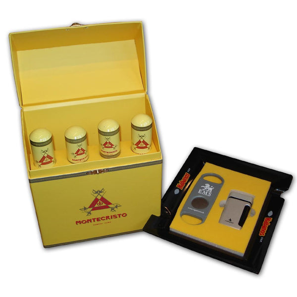EMS Havana Hamper - Montecristo - Cigar Accessories Set