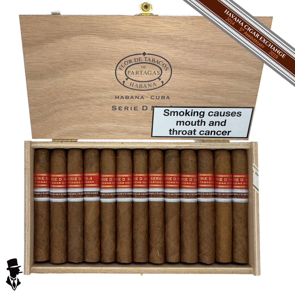 Partagas - Series D No. 4 - Box of 25