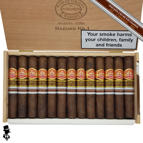 Partagas - Maduro No. 1 - box of 25